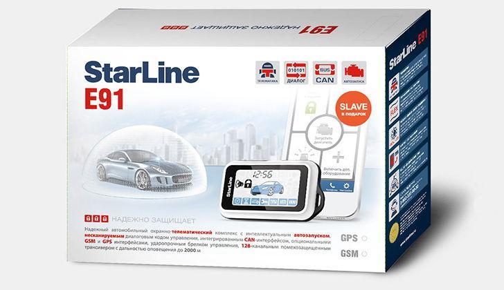 Коробка от сигнализации StarLine E91