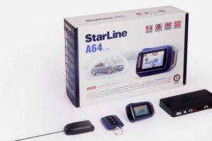 Сигнализация Starline A64 Slave с ударопрочным брелком управления