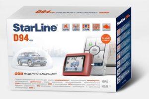 Автомобильный охранно-телематический комплекс StarLine D94