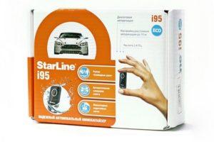 Иммобилайзер StarLine i95 ECO с диалоговой авторизацией
