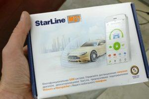 Автономный GSM-модуль StarLine M21 с охранными и сервисными функциями