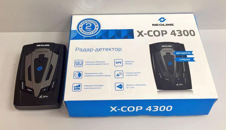 Модель X-Cop 4300