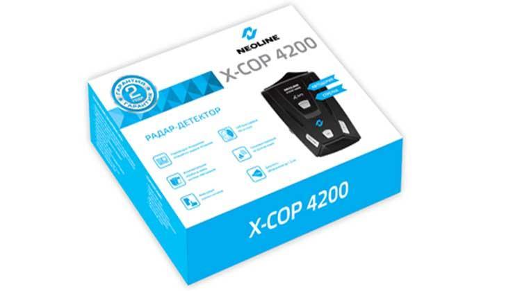 NEOLINE X-COP 4200 в коробке