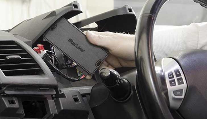 Отключение техники в машине