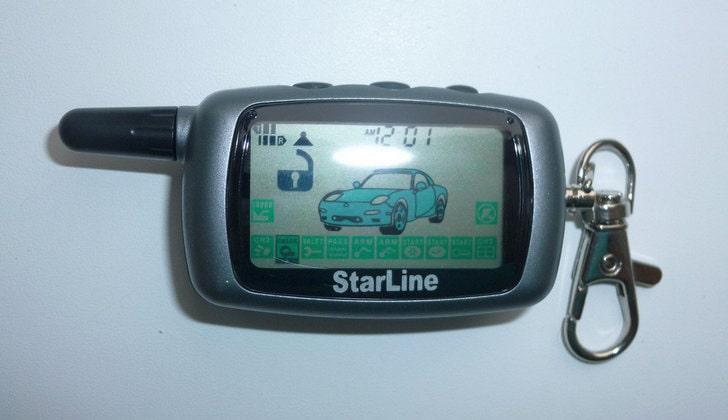 Пейджер автомобильной сигнализации