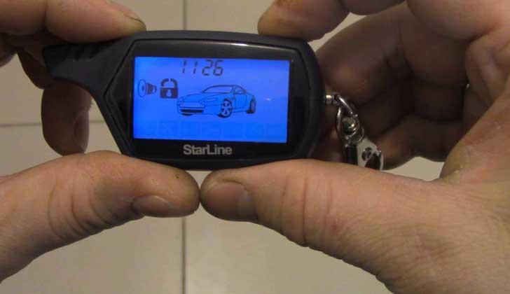 Проверка температуры на StarLine A91