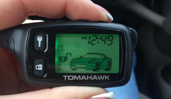 Пульт управления от сигнализации Томагавк X5