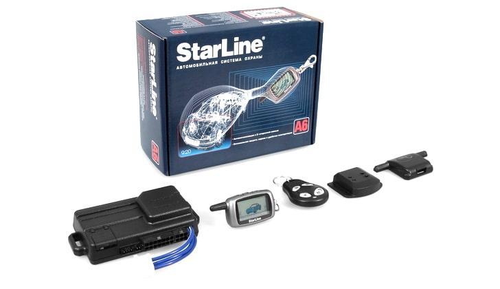 Сигнализация Starline А6