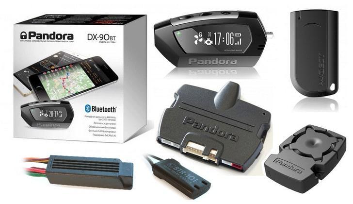 Сигналка Pandora DX 90BT