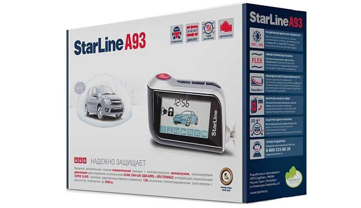 Starline А93 в упаковочной коробке