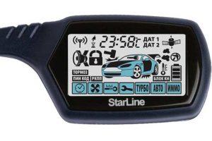 Сигнализация Starline B9 с 2-сторонней связью и комплектом жгутов
