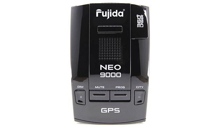 Верхняя панель детектора Fujida Neo 9000