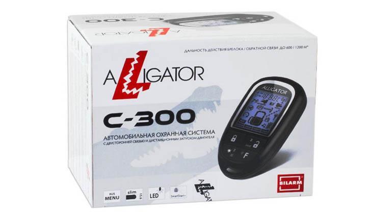 Alligator C-300 в упаковке