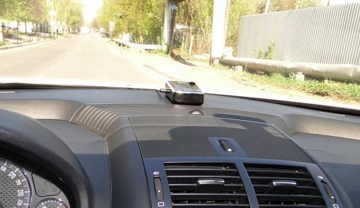Антирадар в автомобиле