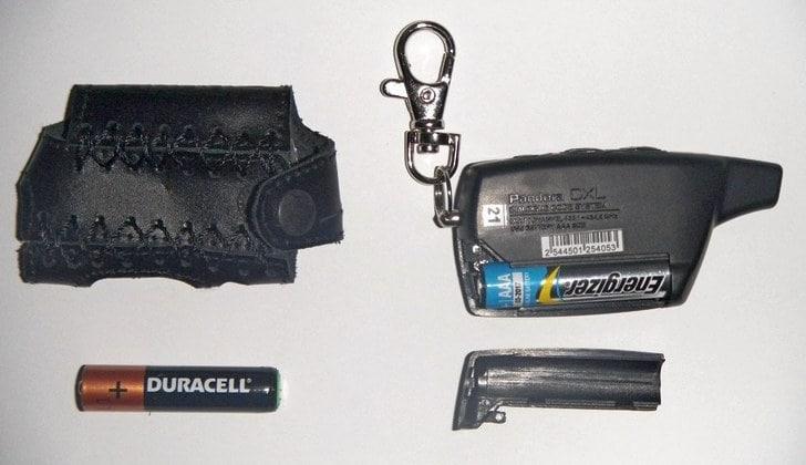 Батарейки пульта сигналки