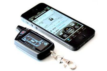Брелок Pandora с телефоном