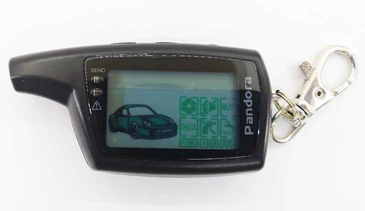Брелок сигнализации Pandora DXL3000