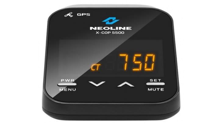 Экран на Neoline X-Cop 5500