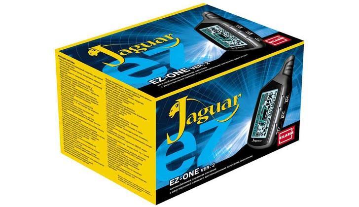 Jaguar EZ-ONE в упаковке