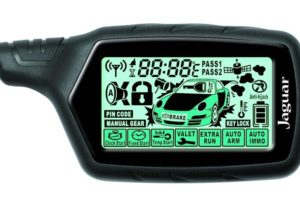 Сигнализация Jaguar EZ-ONE с датчиком чувствительности двухуровневого типа