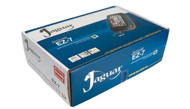 Jaguar в упаковке