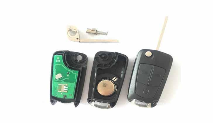 Ключ от авто разобранный
