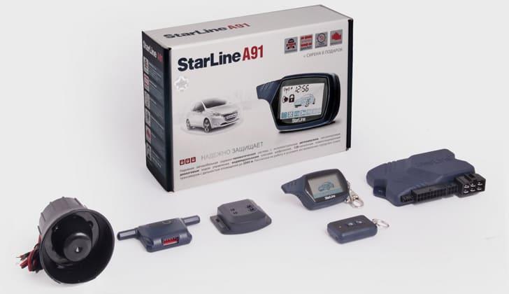 Комплект от сигналки Старлайн A91
