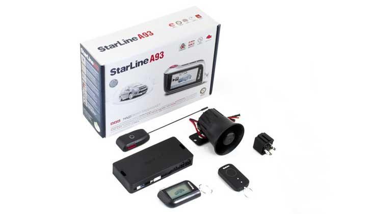 Комплект от сигналки StarLine A93