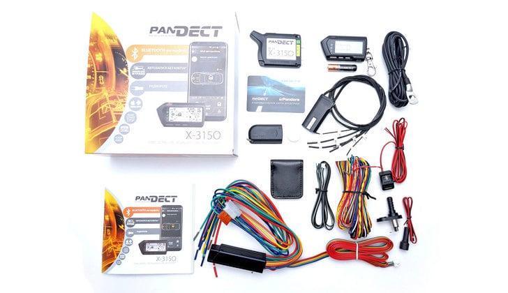 Комплект поставки Pandect