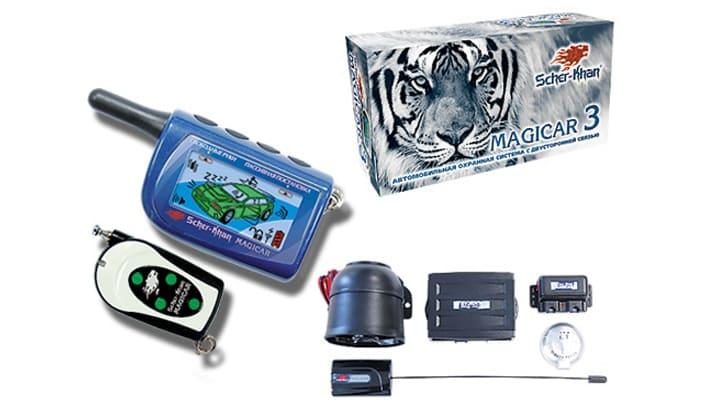 Комплект Scher-Khan модели Magicar 3