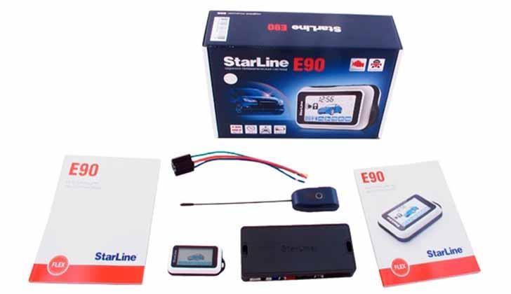 Комплект Starline E90