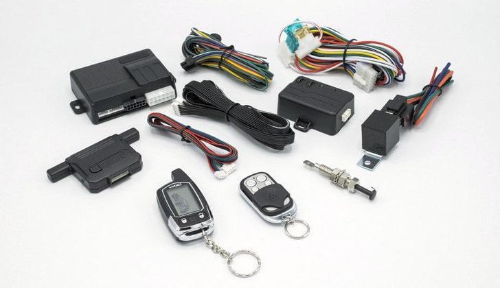 Комплектация автомобильной сигнализации