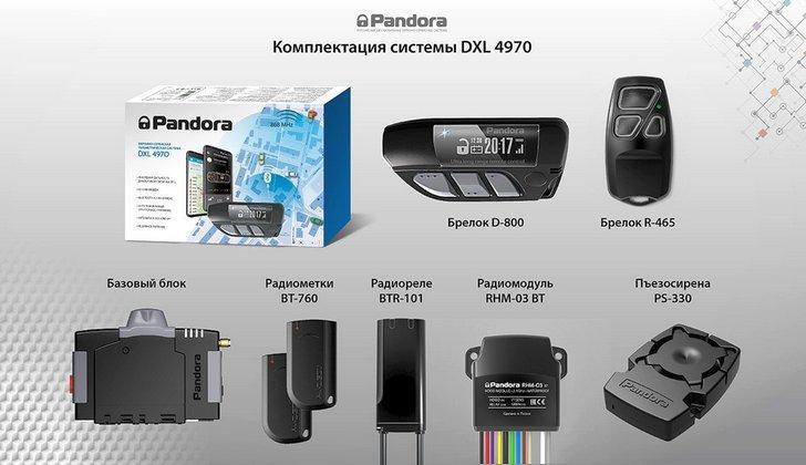 Комплектация DXL 4970