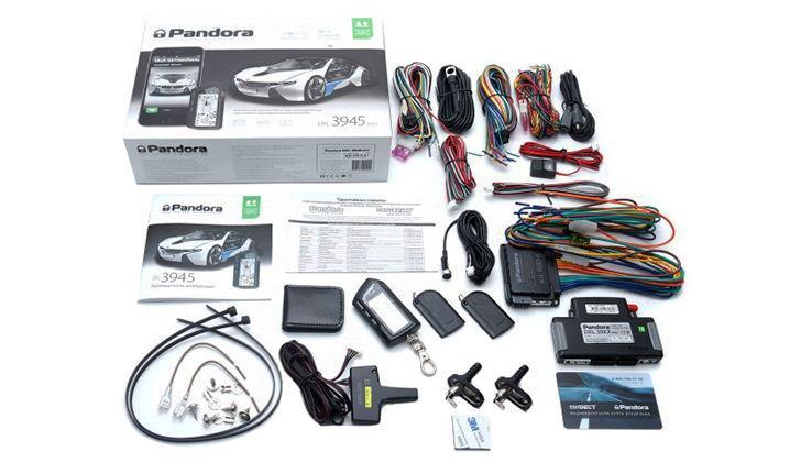 Комплектация Pandora DXL 3945 PRO