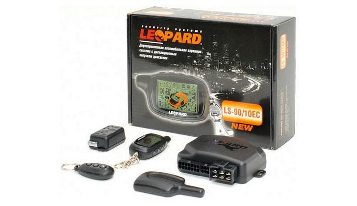 Комплектация сигналки Leopard
