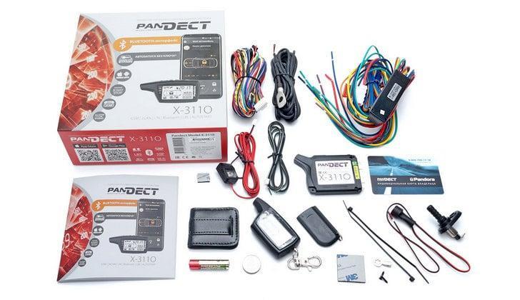 Комплектация сигналки Pandect