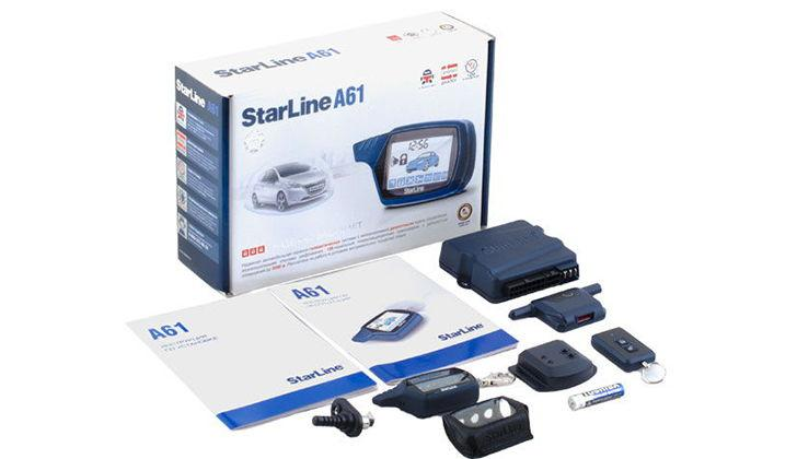 Комплектующие StarLine A61