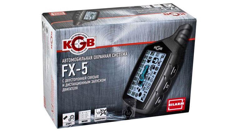 Коробка KGB TFX-5