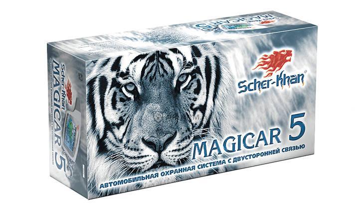 Коробка от сигнализации Scher-Khan Magicar 5