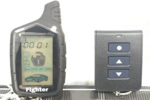 Автосигнализация Fighter с функцией Антиограбление