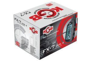 Сигнализация KGB FX-7 v 2 с автозапуском двигателя (инструкция по эксплуатации)
