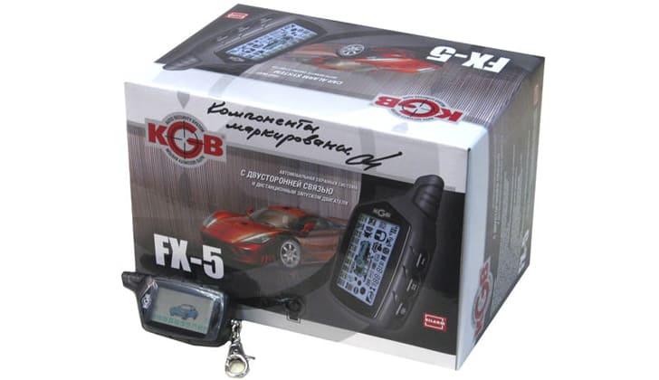 Модель KGB TFX-5 в коробке
