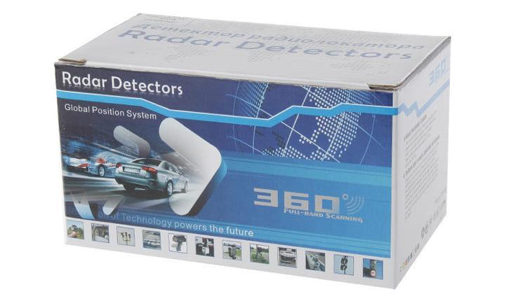 Модель Radar Detectors 360 Full-Band Scanning
