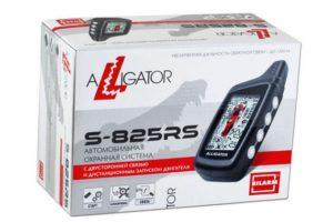Сигнализация Alligator S-825RS ver 3 с автозапуском двигателя