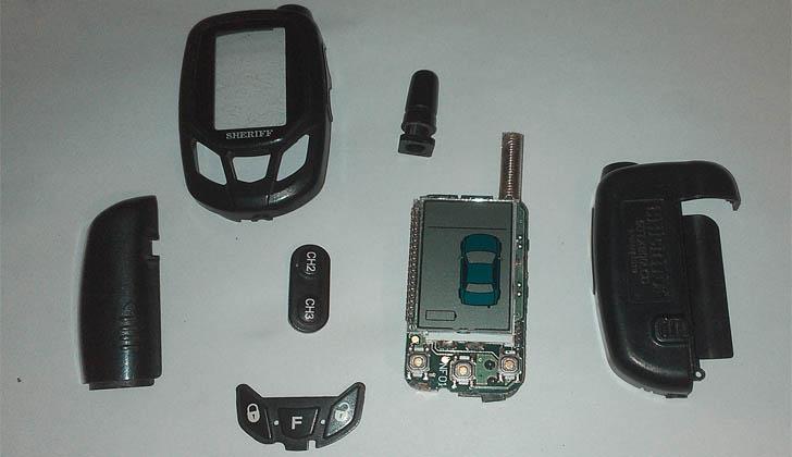 Модель Sheriff 5BTX900LCD