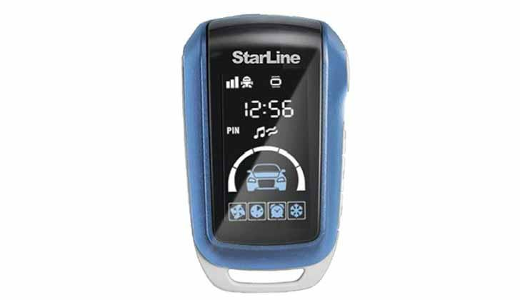 Модель сигналки Starline A95