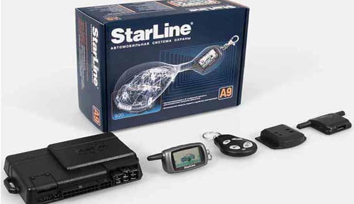 Модель Starline А9