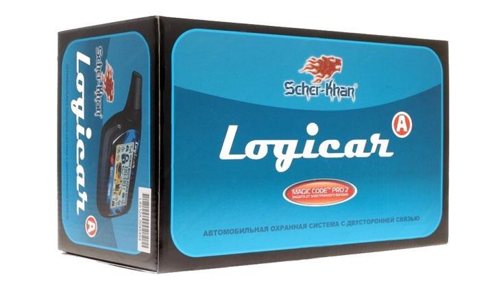 Модель техники Scher-Khan Logicar A в коробке