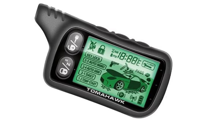 Модель Tomahawk 434 MHz Frequency