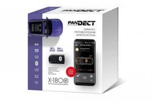 Автосигнализация Pandora Pandect X-1800 BT с управлением через телефон